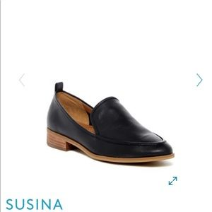 Susina Kellen almond toe loafer
